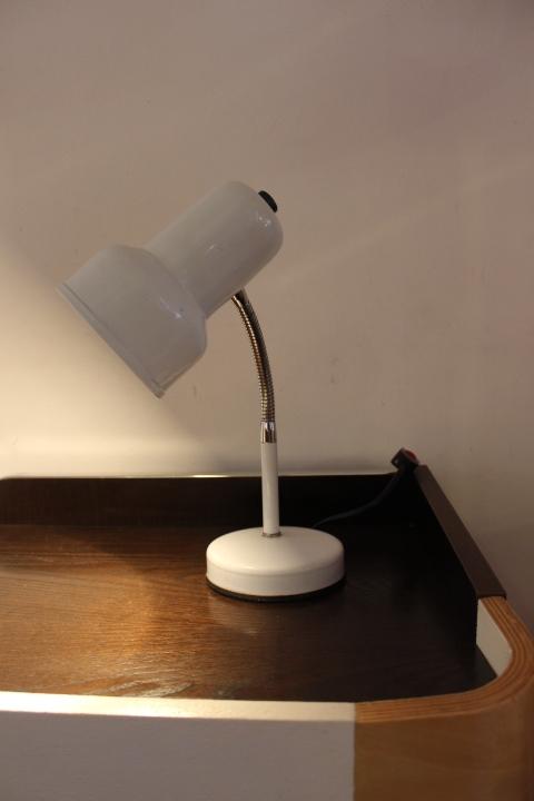 Lampe de bureau blanche 60 39 s vintage by fabichka - Lampe bureau blanche ...