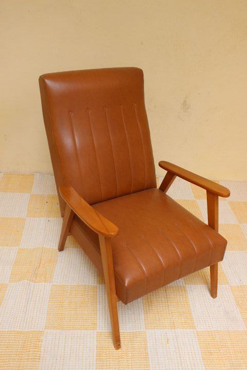 fauteuil design scandinave en ska vintage by fabichka. Black Bedroom Furniture Sets. Home Design Ideas